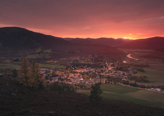 Royal connection...found in the heart of Royal Deeside, at the gateway to the Cairngorms National Park, Braemar is encircled by mountains, valleys and woodlands. (Pic: Damian Shields, VisitScotland)