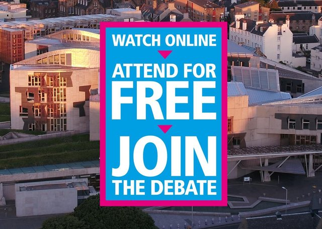 Free for all...join the debate as the Festival of Politics moves online this month.