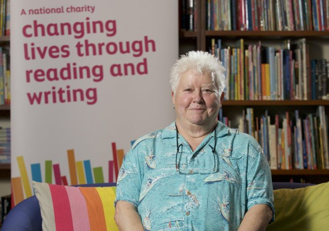 Time capsule...Val McDermid has contributed work for the Future book but readers will have to wait a while for the ending which will be revealed when the time capsule is opened in 10 years time! (Pic: Rob McDougall)
