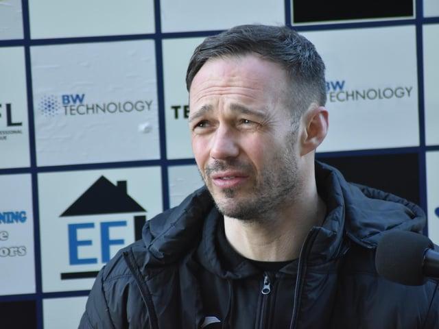 East Fife boss Darren Young
