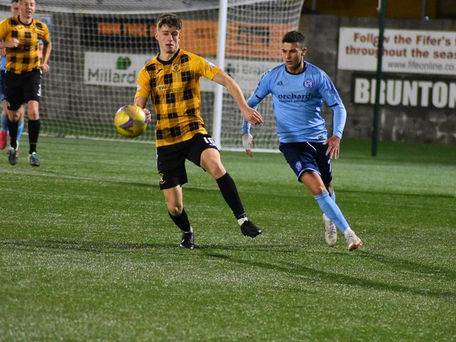 East Fife returned to the kingdom with all three points following a 3-2 win at Forfar. Stock image by Kenny Mackay