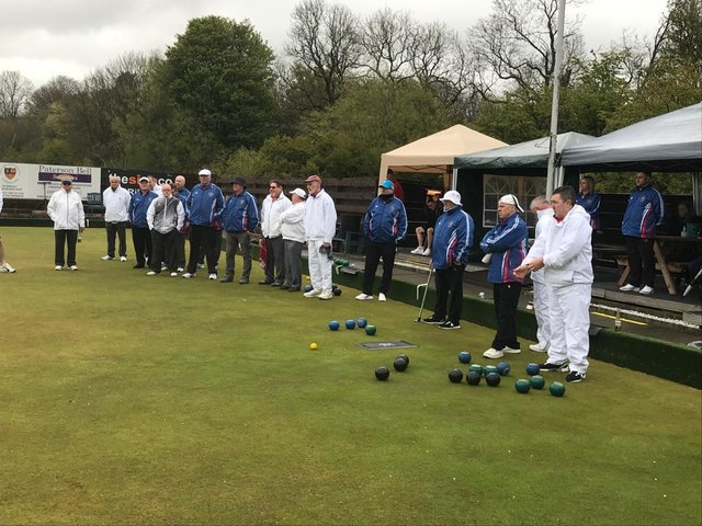 Bowlers at Windygates get the new season underway