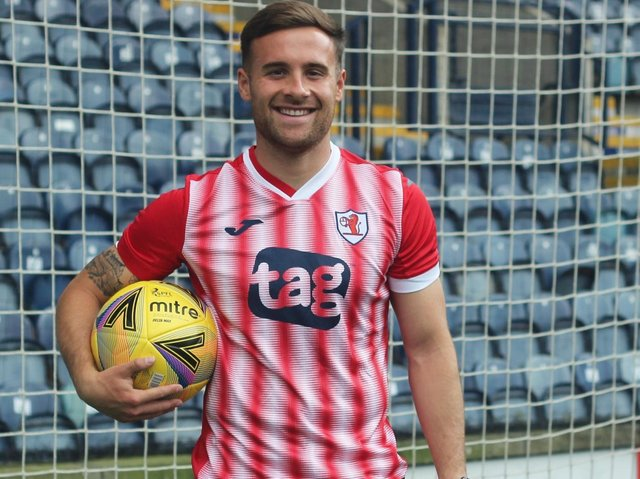 Raith will wear their new away kit this weekend when the competitive season kicks off at Cowdenbeath