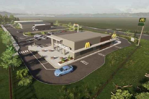 How the petrol station might look