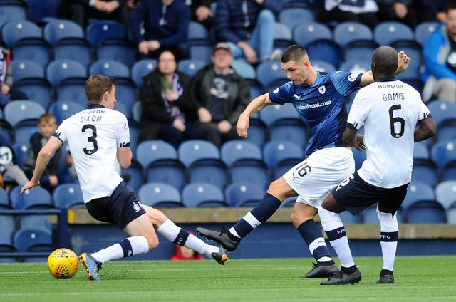 Dave McKay in action for Raith Rovers (Pic: Michael Gillen)