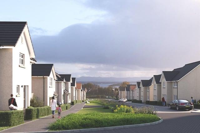 The proposed CALA development in Aberdour