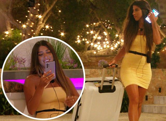 Shannon Singh has left the Love Island villa (ITV)