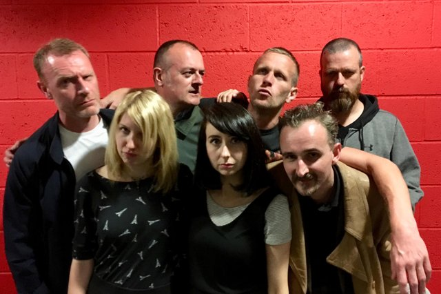 Rudebeard, from left to right: John Macfarlane, Becky Verdon, Gordon Davidson, Ali Hendry, Rod Drysdale, Graeme Mearns and Adam Lawson. Picture: Contributed