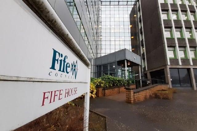 Fife House - headquarters of Fife Council