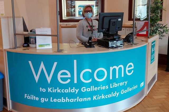 Fife has re-opened more libraries than almost any other region in Sotland since lockdown restrictions eased.