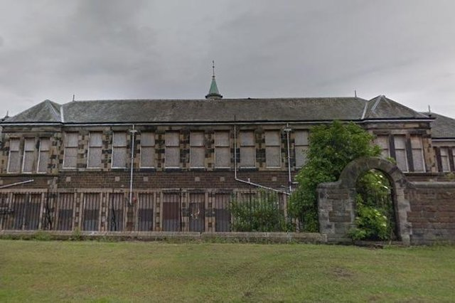 The fire hit former Inverkeithing Primary School