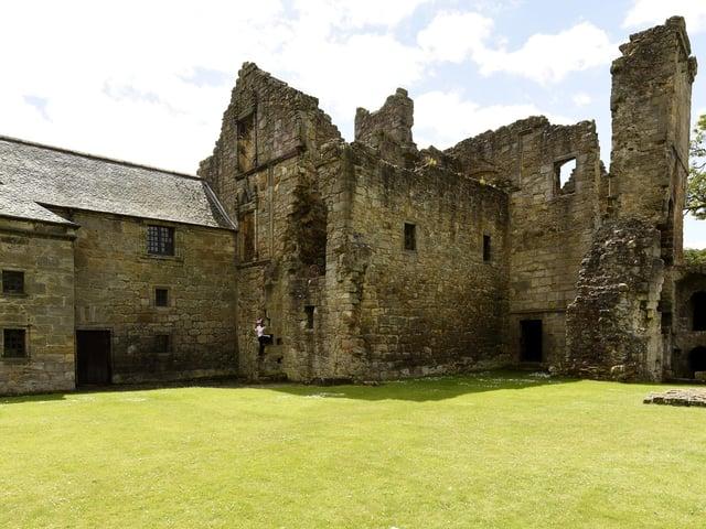 Aberdour Castle (Pic: Walter Neilson)