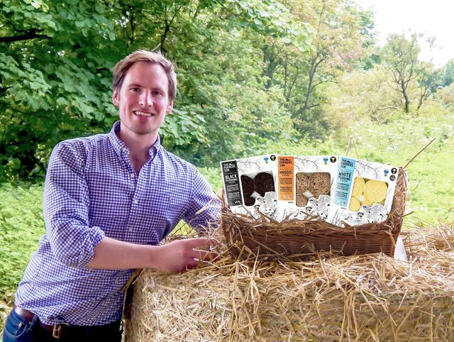 Pete Mitchell, founder of The Farmer's Son, based in Auchtertool which has been shortlisted for an award.
