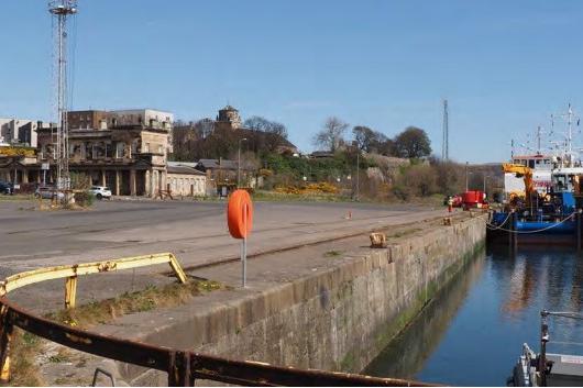 The port at Burntisland