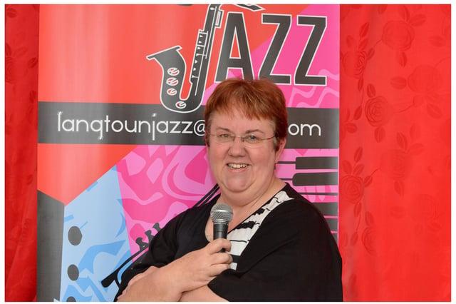 Grace Black, treasurer of Langtoun Jazz (Pic: George McLuskie)