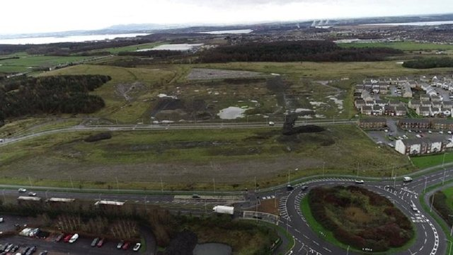 The site of the proposed new super campus