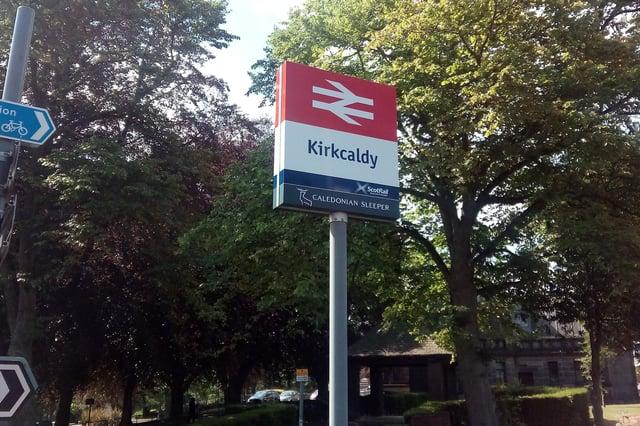 Kirkcaldy station