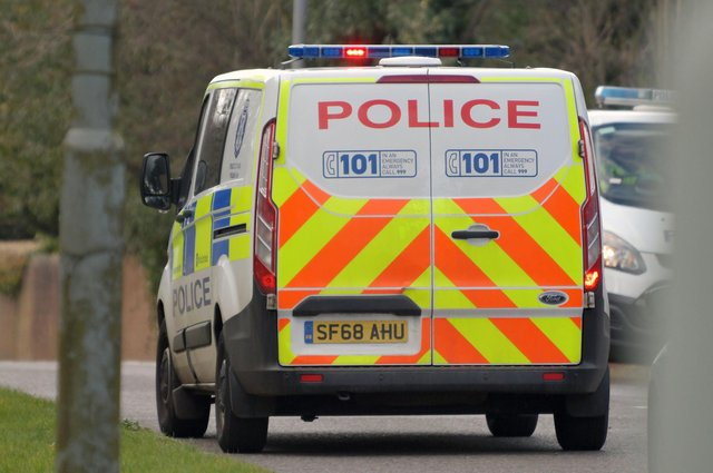 Police were called to the area after reports of concern for a person.