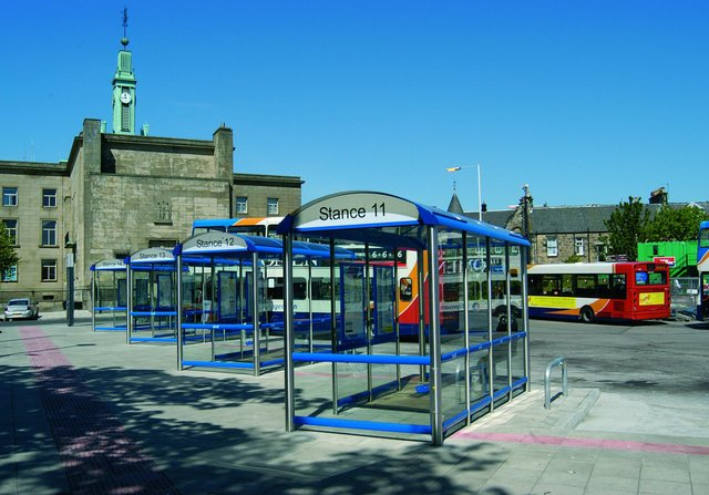Ross admitted assaulting his partner at Kirkcaldy Bus Station.