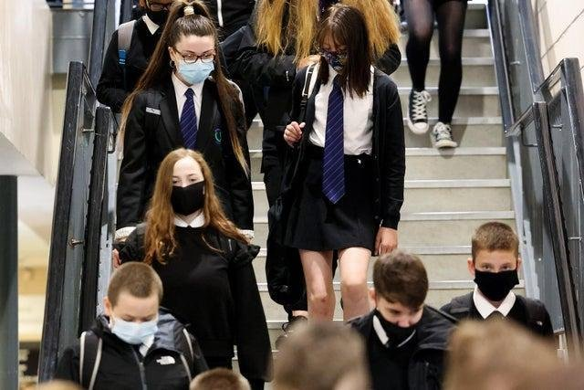 Majority of Scotland's secondary school pupils have now returned to the classroom full-time.