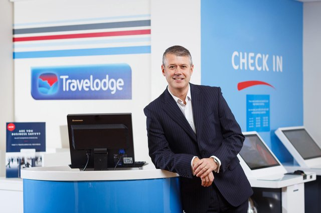Kirkcaldy man Craig Bonnar has been named the new chief executive of Travelodge (Pic: -Ben Phillips Photography)