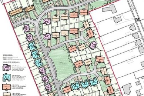 The proposed development in Ladybank