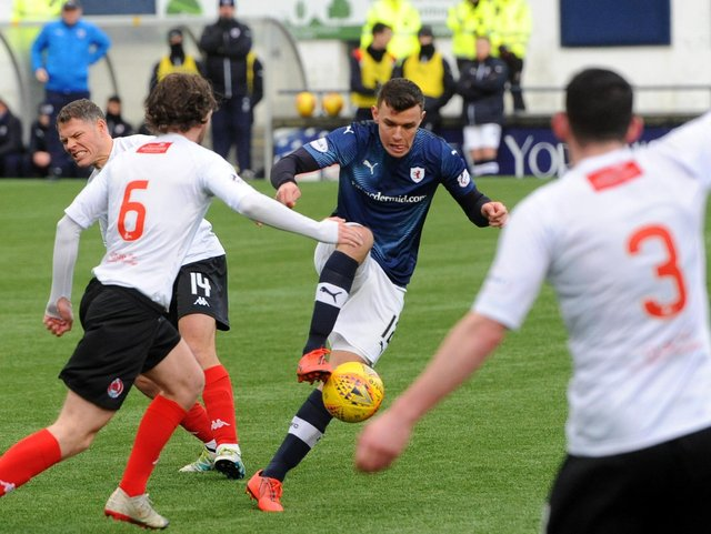 Raith and Clyde last met in League One in 2020 (Pic: Fife Photo Agency)