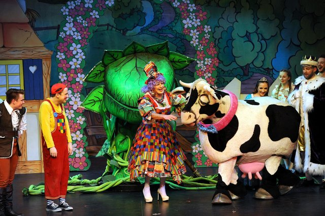 Jack And The Beanstalk in 2019 was the last panto staged at the Adam Smith Theatre (Pic: Fife Photo Agency)