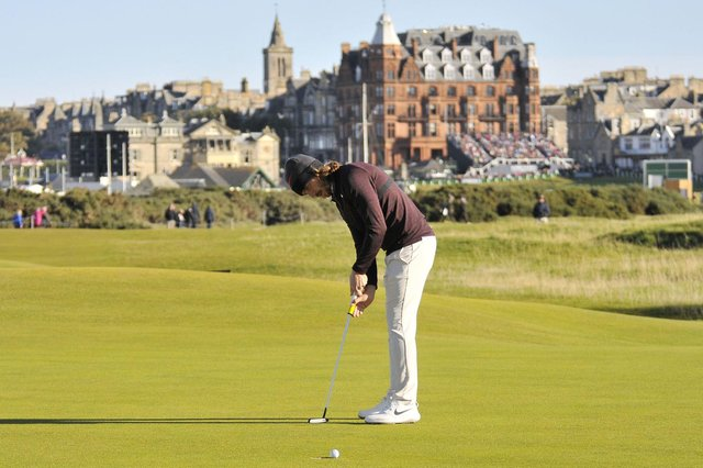 The Old Course will host the 150th Open Championship next year. Pic by John Stewart