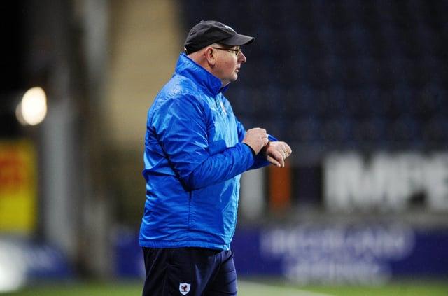 Raith boss John McGlynn (Pic: Michael Gillen)