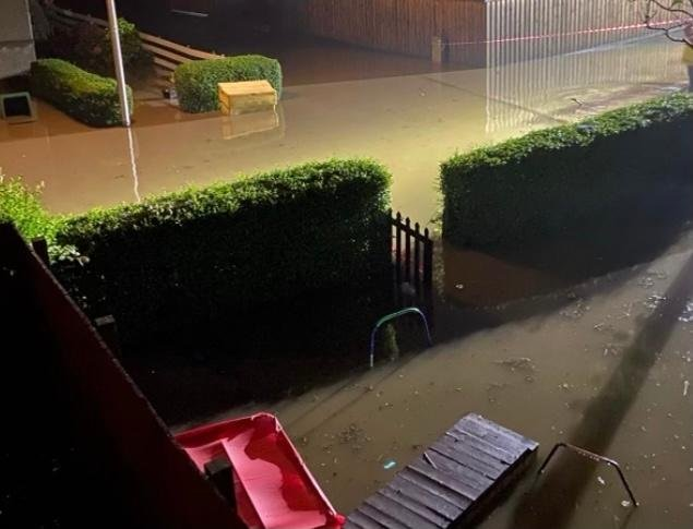 Areas of Kinghorn were badly flooded last August and locals are concerned that more houses could put more strain on the town's drainage systems which are already at capacity.