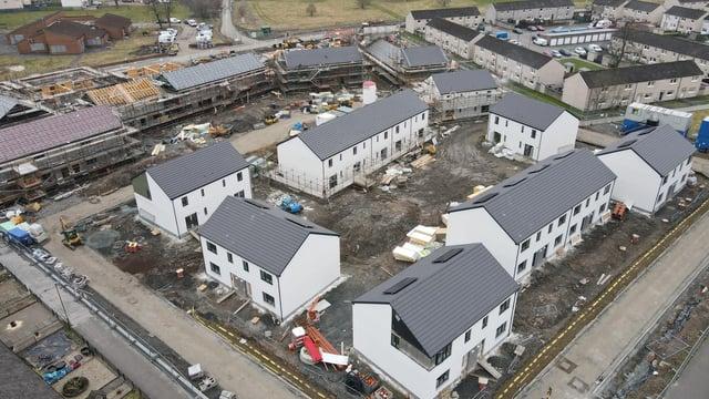 Kingdom Housing project in Alloa