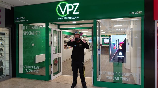 New VPZ store in the Kingdom Centre, Glenrothes