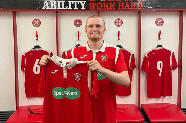 Kyle Bell has joined an impressive list of new signings at Glenrothes FC