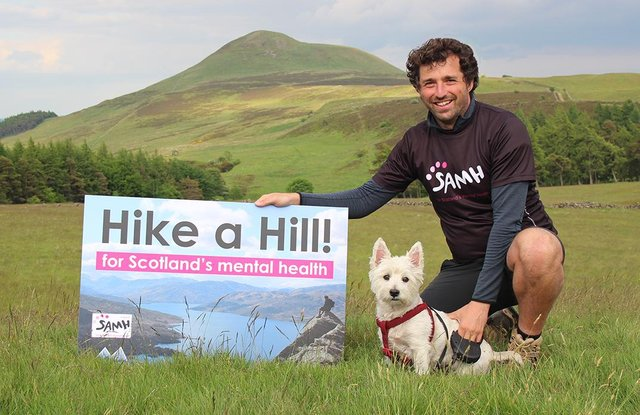 Ross started hill walking in 2017 while suffering from depression.