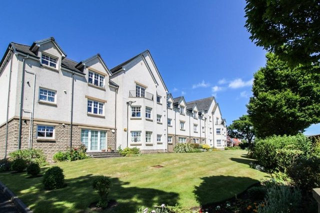 Carberry Court is a modern development of luxury apartments.