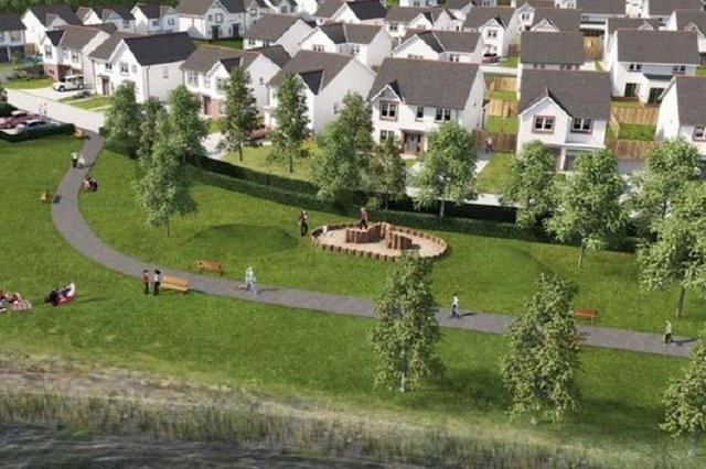 The development at Cairneyhill