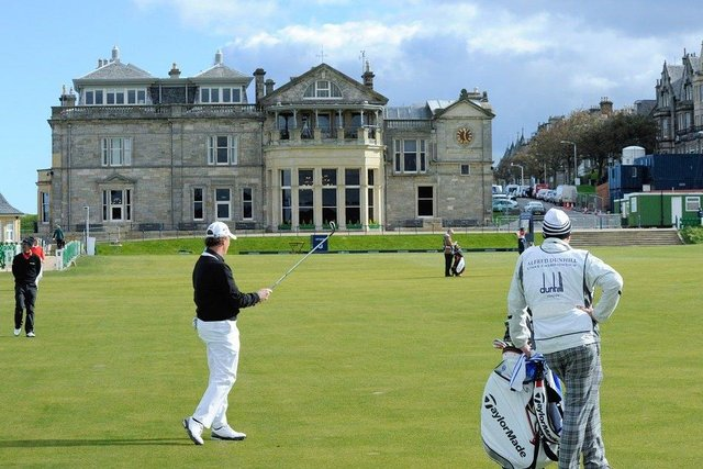 There's worry over travelling golfers being allowed to come to Scotland for golf trips.