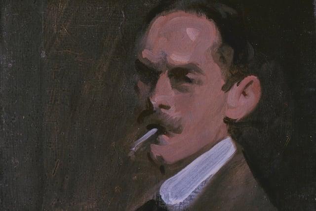 Samuel Peploe - self portrait
