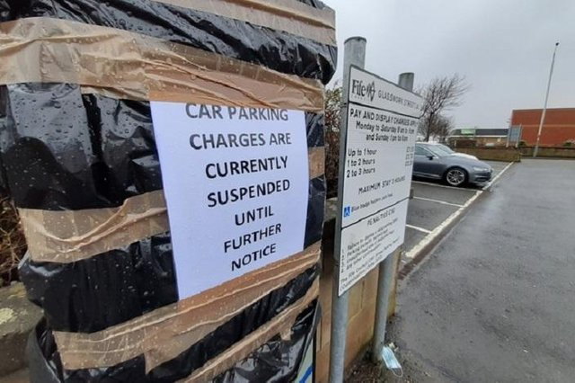 Parking charges have been a long-running bone of contention in Kirkcaldy town centre