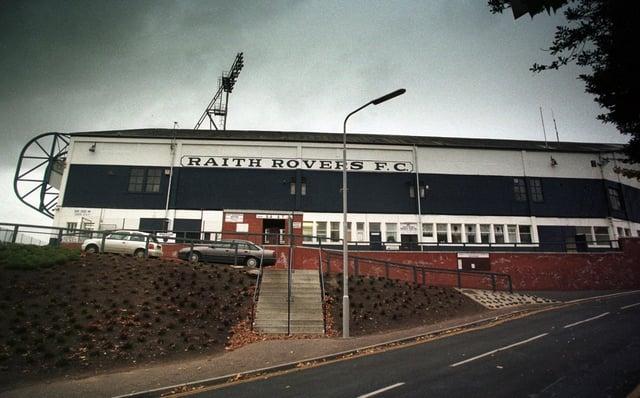 Starks Park, home of Raith Rovers Football Club