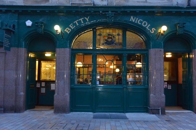 Betty Nicol's, High St, Kirkcaldy  (Pic: George McLuskie)