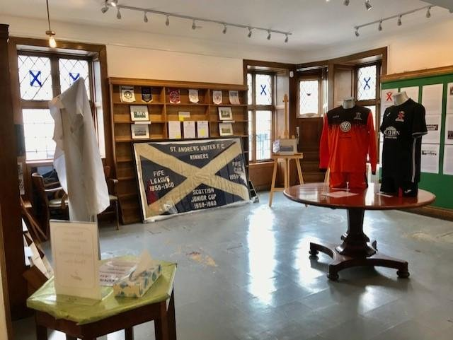 The exhibition charts the 100 year history of St Andrews United