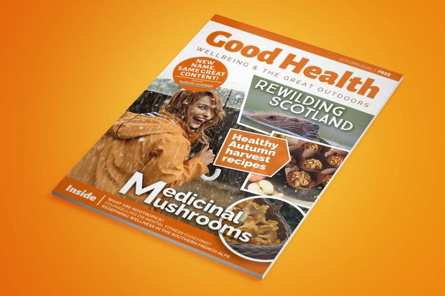 Kirkcaldy based health magazine relaunches with new title