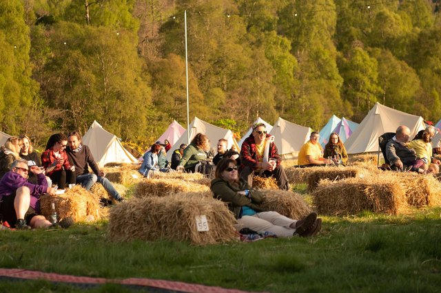 Capers In Cannich was the first music festival held in Scotland since lockdown (Pic: Paul Mitchell/Wildman Media)
