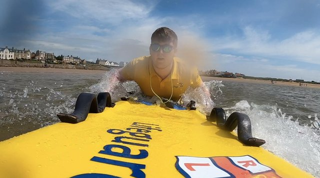 Two similar incidents have happened this month. Pic: RNLI/Elie Harbour Lifeguards.