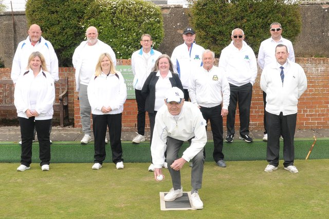 The new bowling season has officially started at Kennoway. Pic by Mark Rodgers