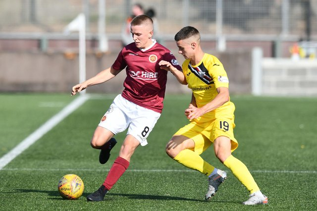Dunfermline defender Miller Fenton has been added to the East Fife squad. Pic by Michael Gillen
