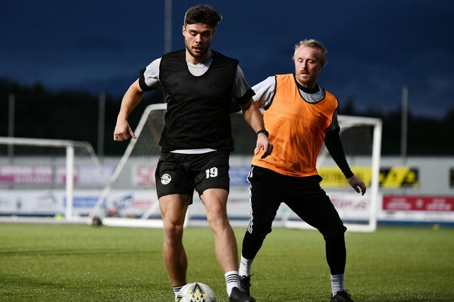 Sean Brown is one of three fresh faces added to the East Fife squad by boss Darren Young. Pic by Michael Gillen