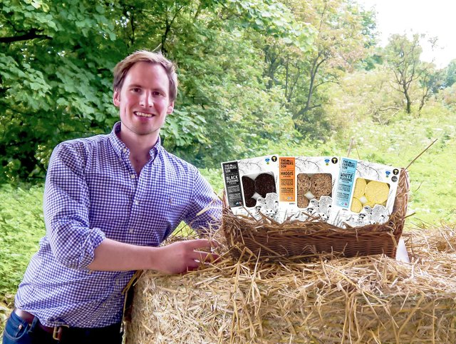 Pete Mitchell founded The Farmer's Son which has secured a listing with high-end supermarket, City Super, to export his award-winning black pudding, haggis and white pudding across the globe to Hong Kong.